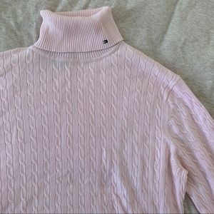 Baby pink Tommy Hilfiger sweater